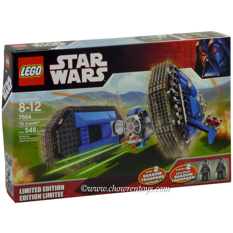 LEGO Star Wars Sets: Expanded Universe 7664 TIE Crawler NEW