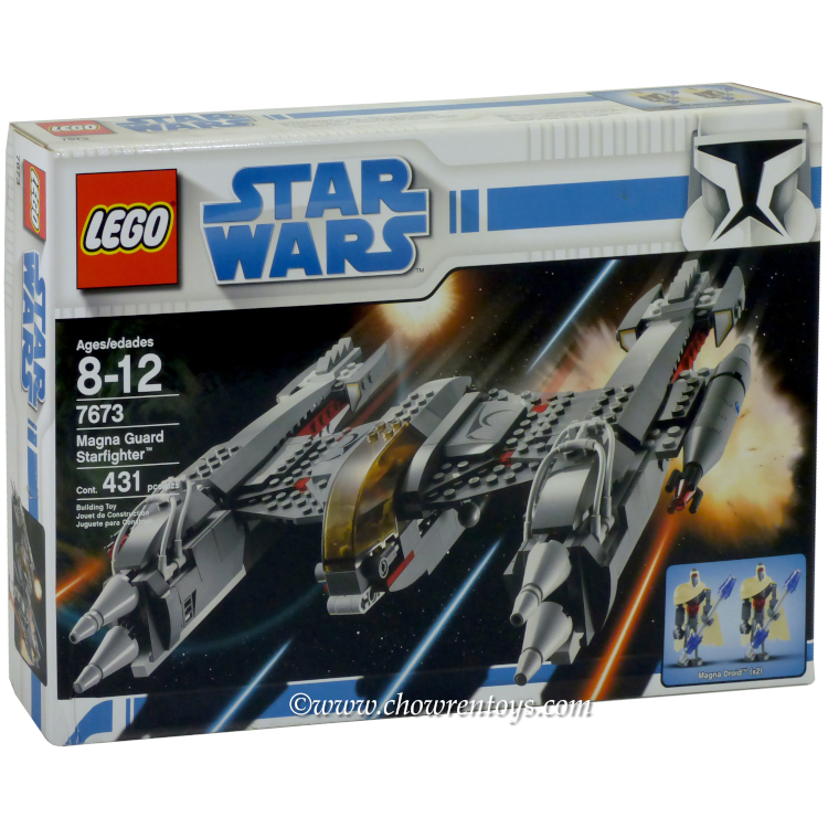 LEGO Star Wars Sets: Clone Wars 7673 Magnaguard Starfighter NEW *Damaged Box*