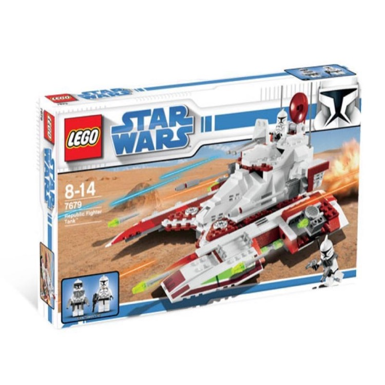 LEGO Star Wars Sets: Clone Wars 7679 Republic Fighter Tank NEW