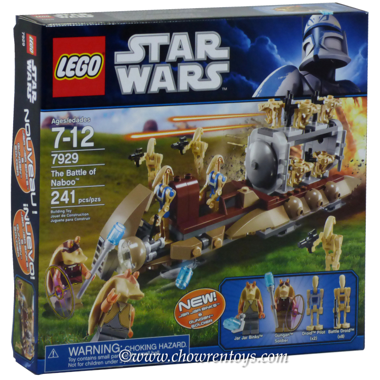 LEGO Star Wars Sets: Episode I 7929 The Battle of Naboo NEW