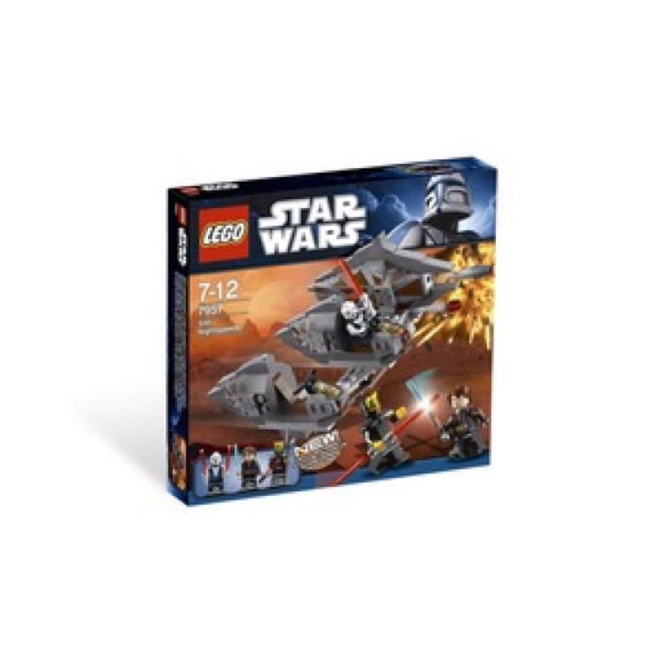 LEGO Star Wars Sets: Clone Wars 7957 Sith Nightspeeder NEW