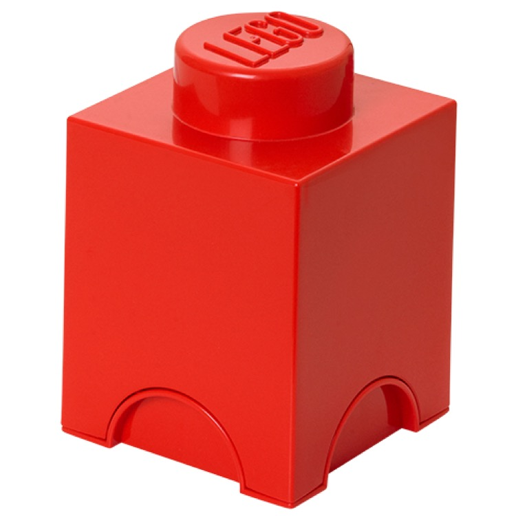 LEGO Storage: 40010630 1-stud Brick Bright Red NEW