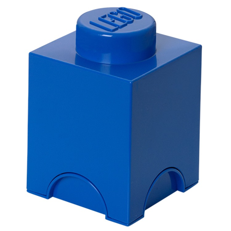 LEGO Storage: 40010631 1-stud Brick Bright Blue NEW
