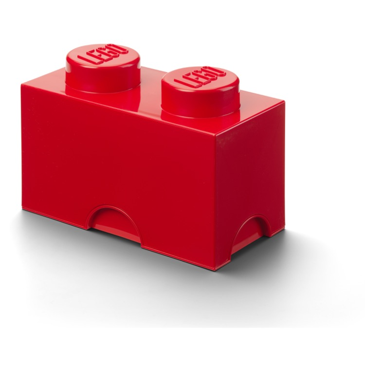 LEGO Storage: 40020630 2-stud Brick Bright Red NEW