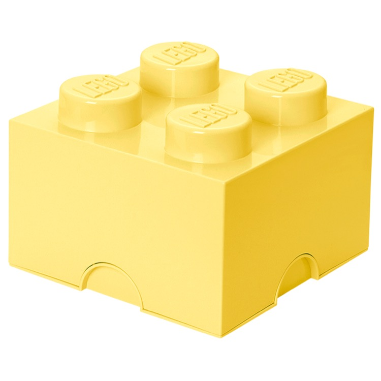 LEGO Storage: 40030641 4-stud Brick Cool Yellow NEW