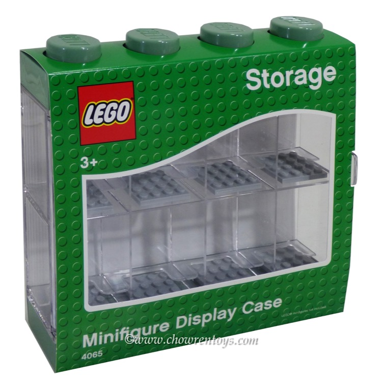 LEGO Storage: 40651752 Minifigure Display Case 8 Green NEW
