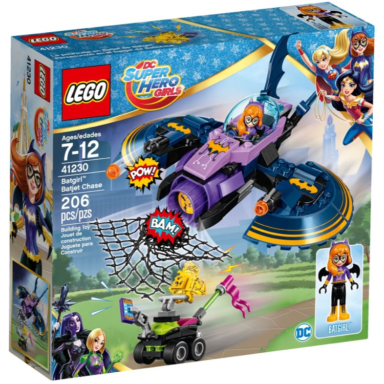 LEGO Super Hero Girls Sets: DC Comics 41230 Batgirl Batjet Chase NEW
