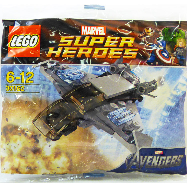 LEGO Super Heroes Sets: Marvel 30162 Quinjet NEW