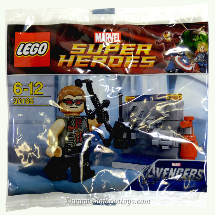 LEGO Super Heroes Sets: Marvel 30165 Hawkeye with Equipment NEW