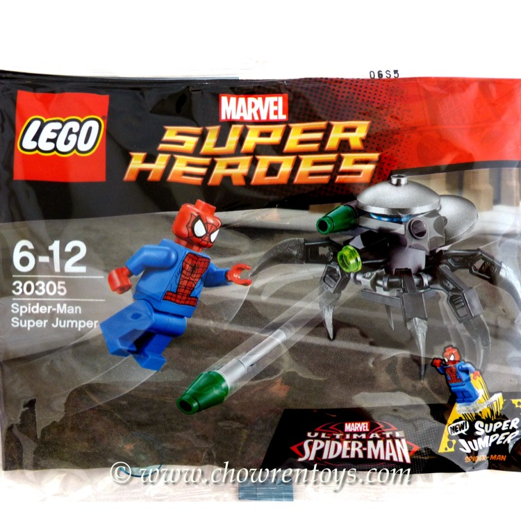 LEGO Super Heroes Sets: Marvel 30305 Spider-Man Super Jumper NEW