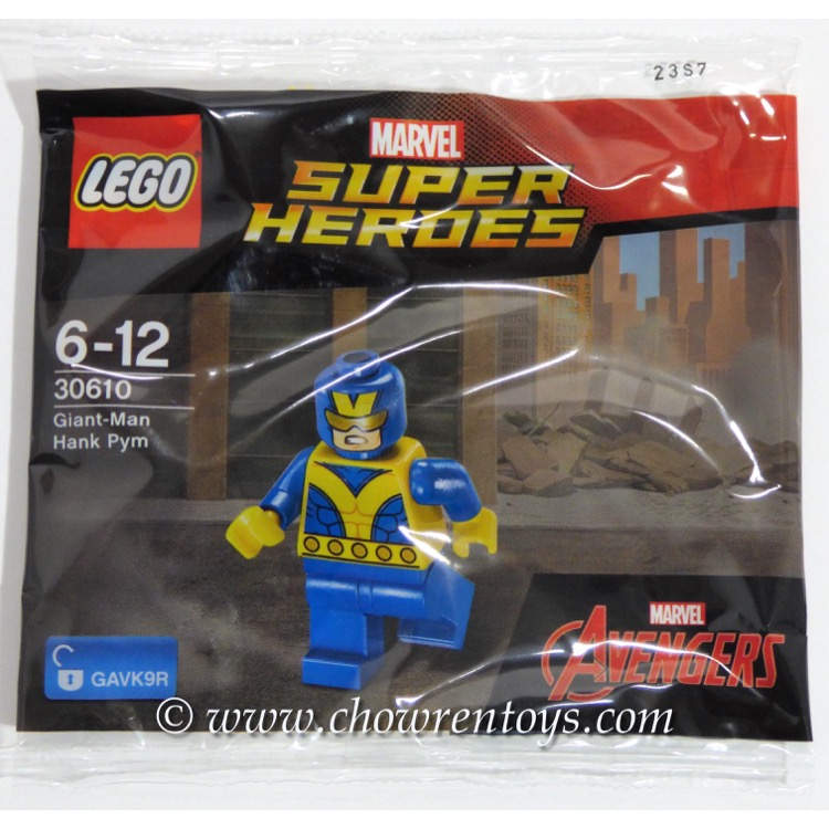 LEGO Super Heroes Sets: Marvel 30610 Giant Man Hank Pym NEW