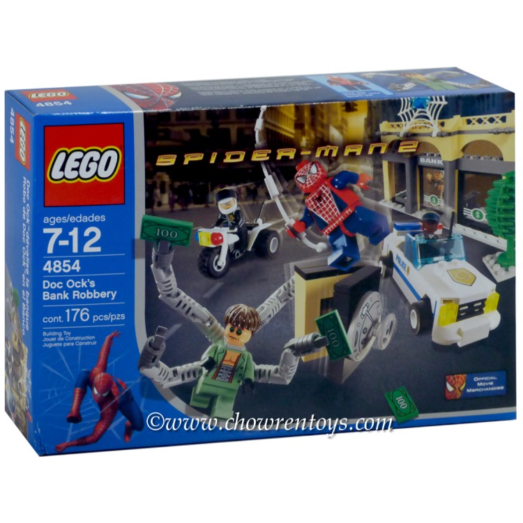 LEGO Super Heroes Sets: Marvel 4854 Doc Ock's Bank Robbery NEW