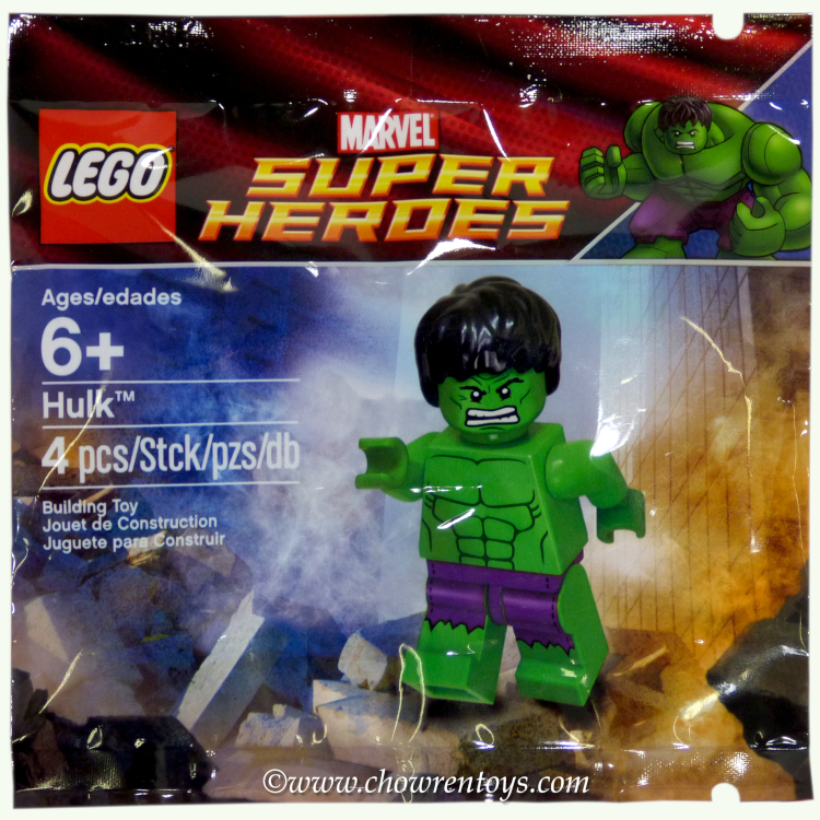 LEGO Super Heroes Sets: Marvel 5000022 Hulk NEW