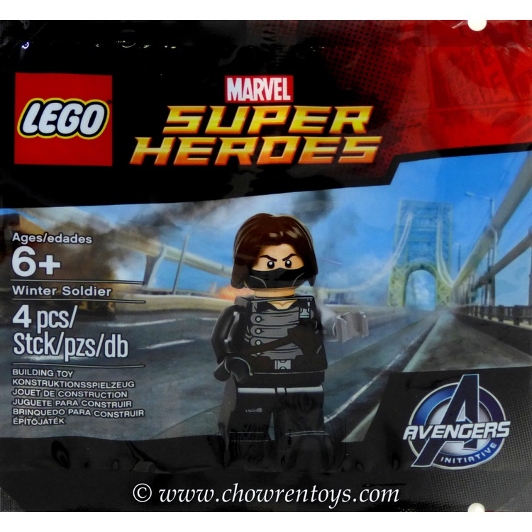 9 x Lego Marvel Super Heroes 5002943 Winter Soldier *New /& Sealed*