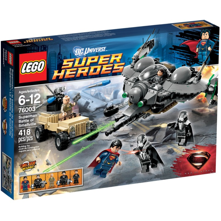 LEGO Super Heroes Sets: DC Comics 76003 Superman: Battle of Smallville NEW