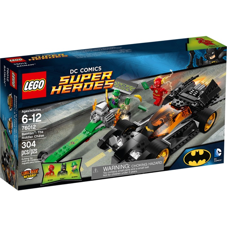 LEGO Super Heroes Sets: DC Universe 76012 Batman: The Riddler Chase NEW