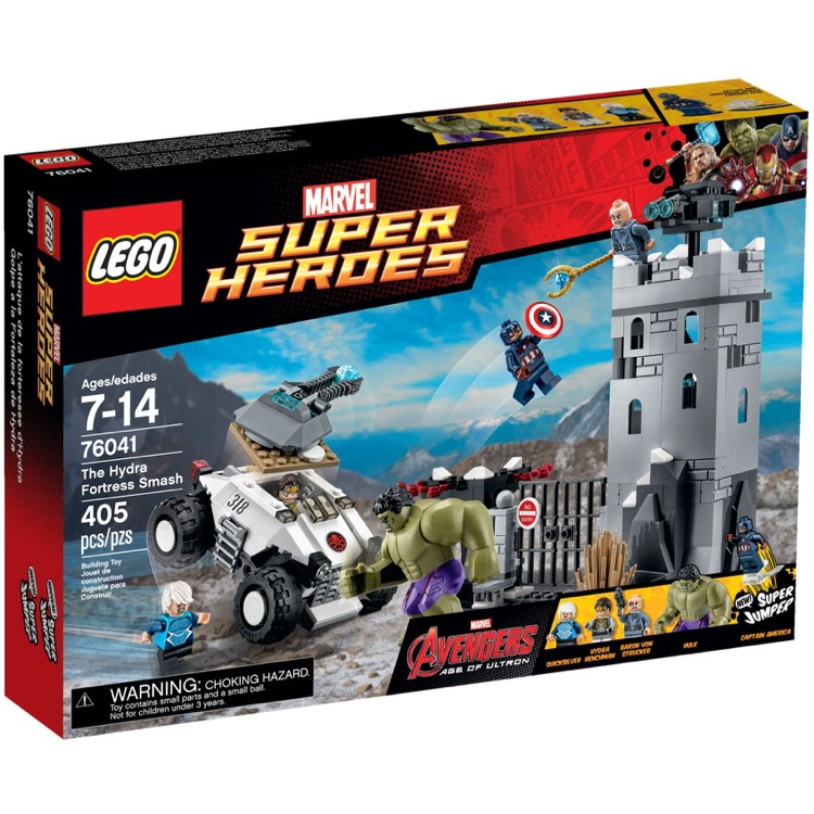 LEGO Super Heroes Sets: Marvel 76041 The Hydra Fortress Smash NEW