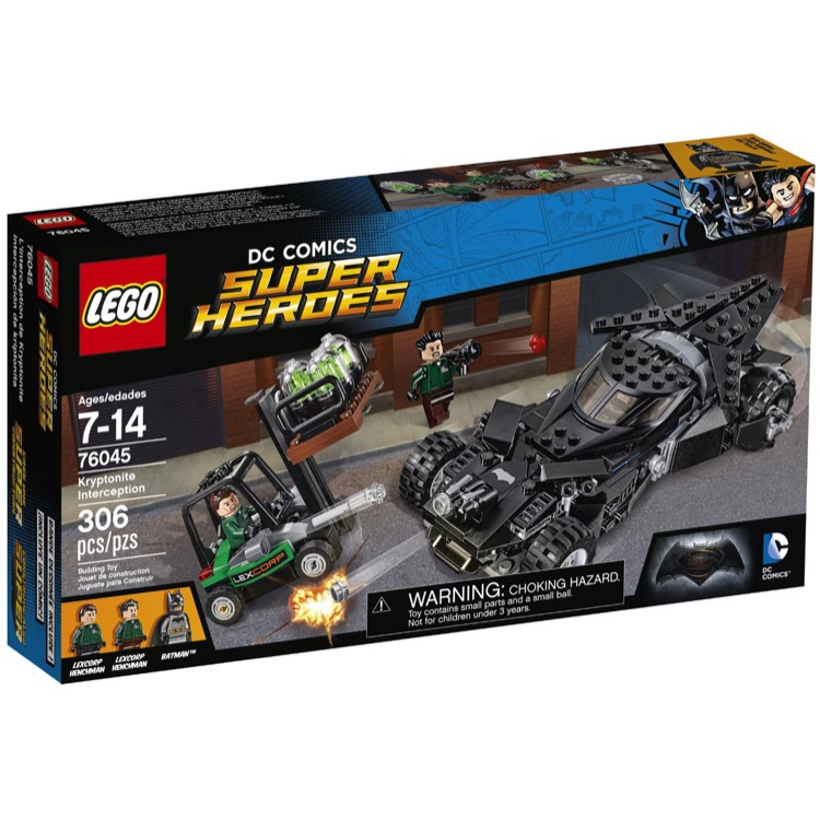 LEGO Super Heroes Sets: DC Comics 76045 Kryptonite Interception NEW *Damaged Box*