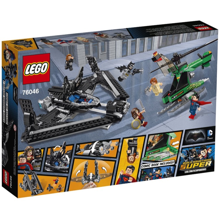 LEGO DC SUPERHEROES LEX LUTHER MINIFIGURE BRAND NEW FROM SET 76046