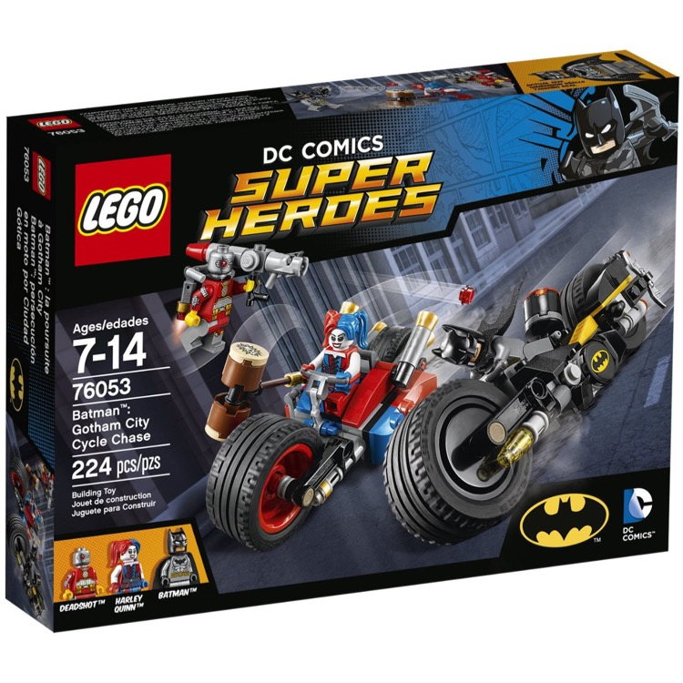 LEGO Super Heroes Sets: DC Comics 76053 Gotham City Cycle Chase NEW