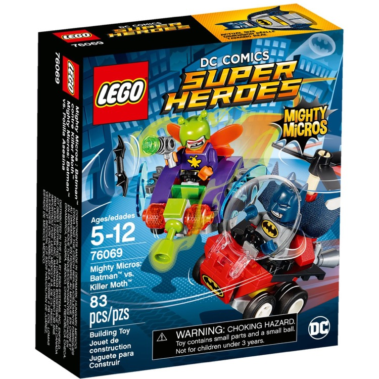 LEGO Super Heroes Sets: DC Comics 76069 Mighty Micros: Batman vs. Killer Moth NEW