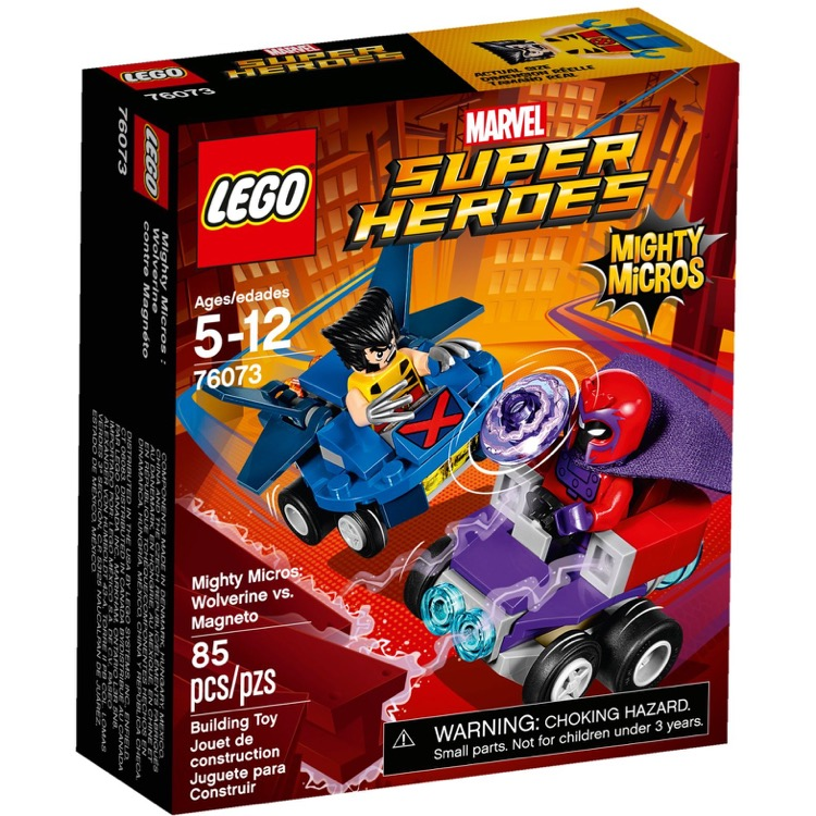 LEGO Super Heroes Sets: Marvel 76073 Mighty Micros: Wolverine vs. Magneto NEW