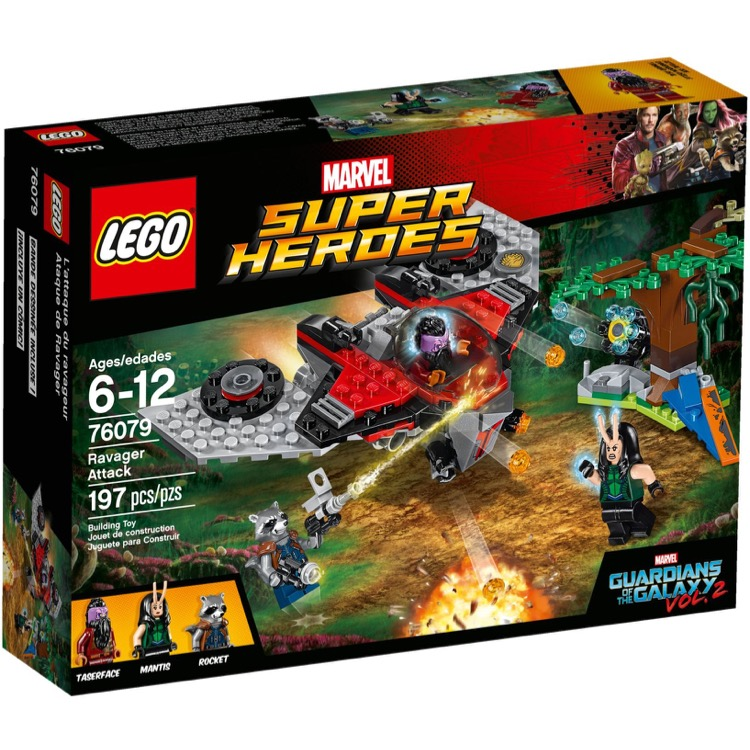 LEGO Super Heroes Sets: Marvel 76079 Ravager Attack NEW