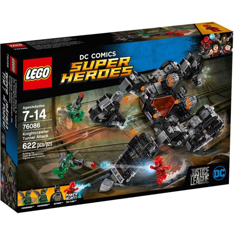 LEGO Super Heroes Sets: DC Comics 76086 Knightcrawler Tunnel Attack NEW