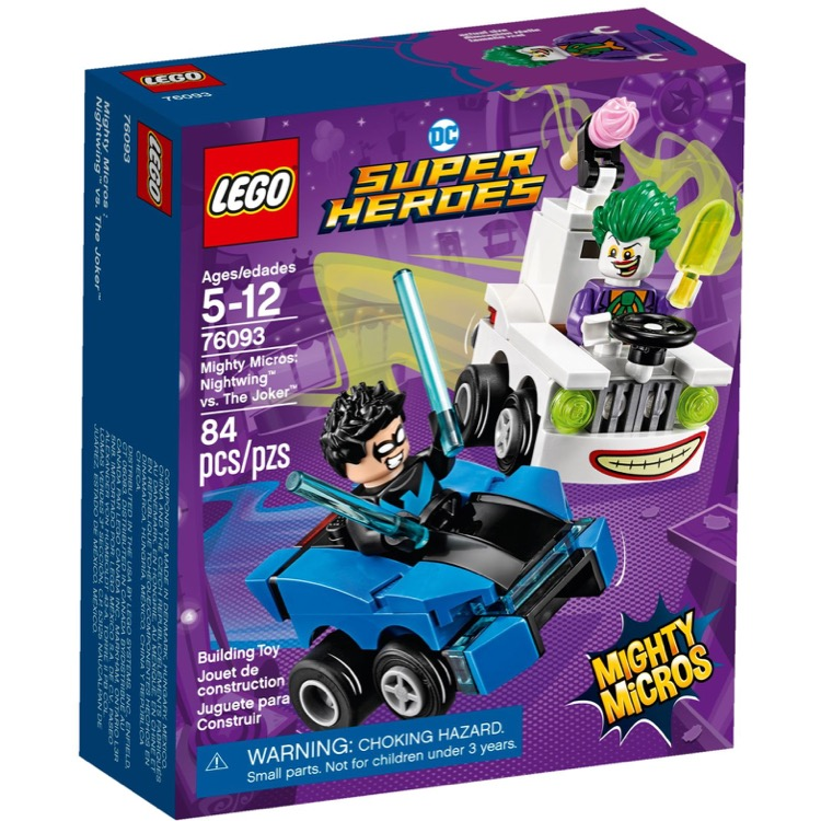 LEGO Super Heroes Sets: DC Comics 76093 Mighty Micros: Nightwing vs. The Joker NEW