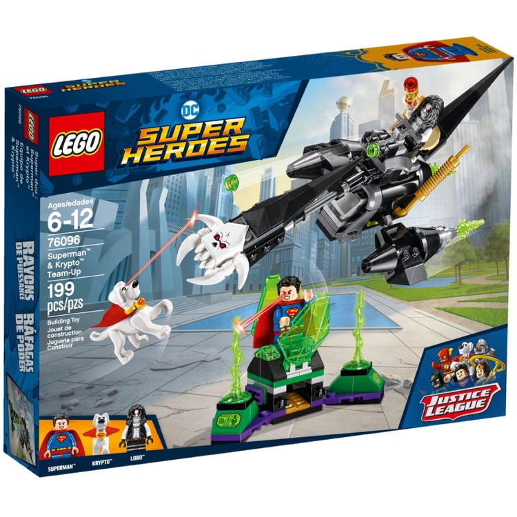 LEGO Super Heroes Sets: DC Comics 76096 Superman & Krypto Team-Up NEW