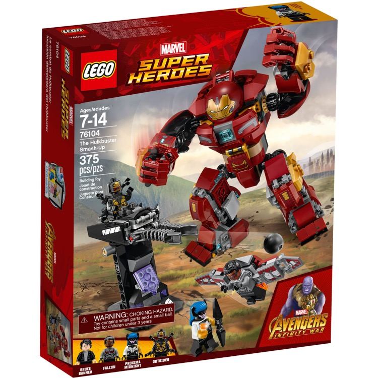 LEGO Super Heroes Sets: Marvel 76104 The Hulkbuster Smash-Up NEW