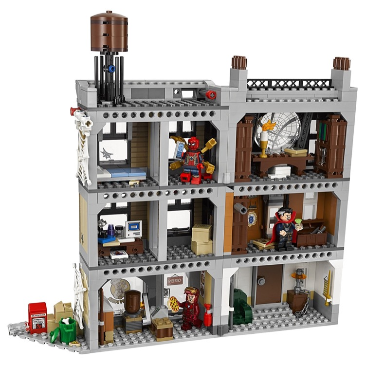 Brand New LEGO Marvel Super Heroes Avengers Sanctum Sanctorum Showdown 76108