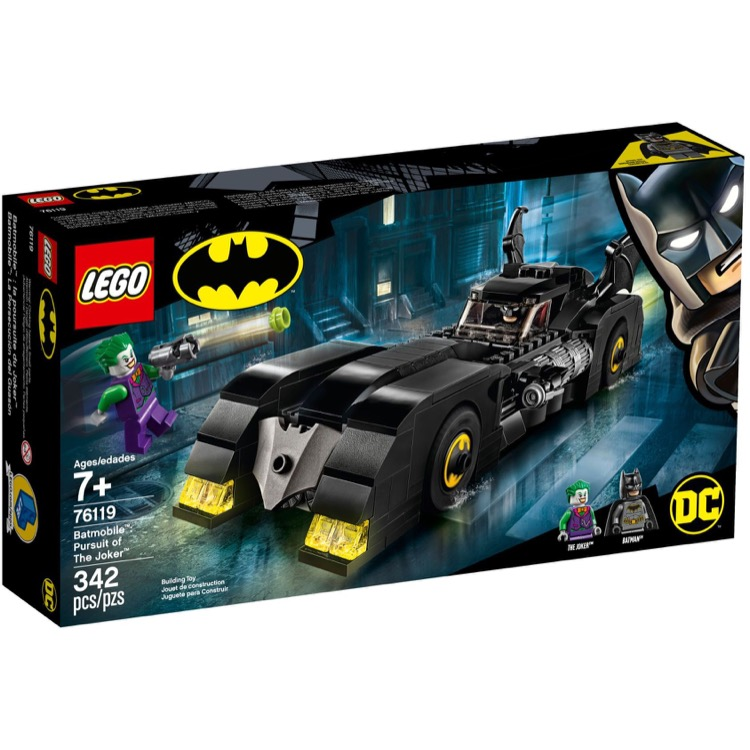 LEGO Super Heroes Sets: DC Comics 76119 Batmobile: Pursuit of The Joker NEW