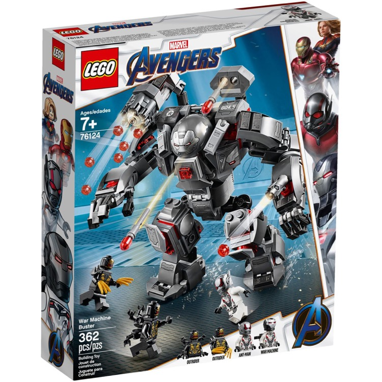 LEGO Super Heroes Sets: Marvel 76124 War Machine Buster NEW