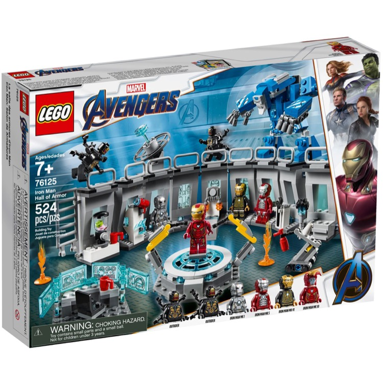 LEGO Super Heroes Sets: Marvel 76125 Iron Man Hall of Armour NEW