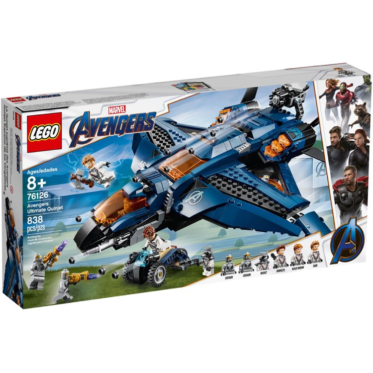 LEGO Super Heroes Sets: Marvel 76126 Avengers Ultimate Quinjet NEW