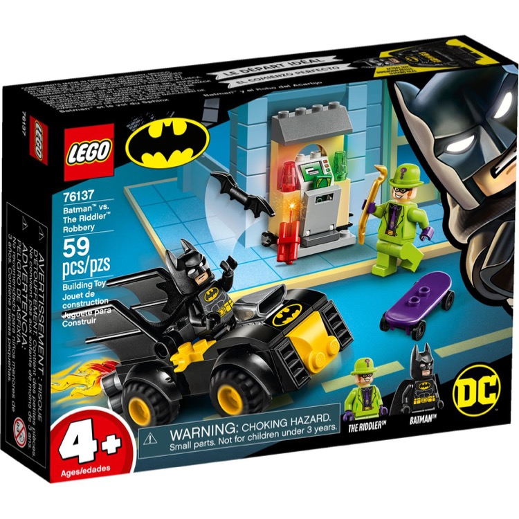 LEGO Super Heroes Sets: DC Comics 76137 Batman vs. The Riddler Robbery NEW
