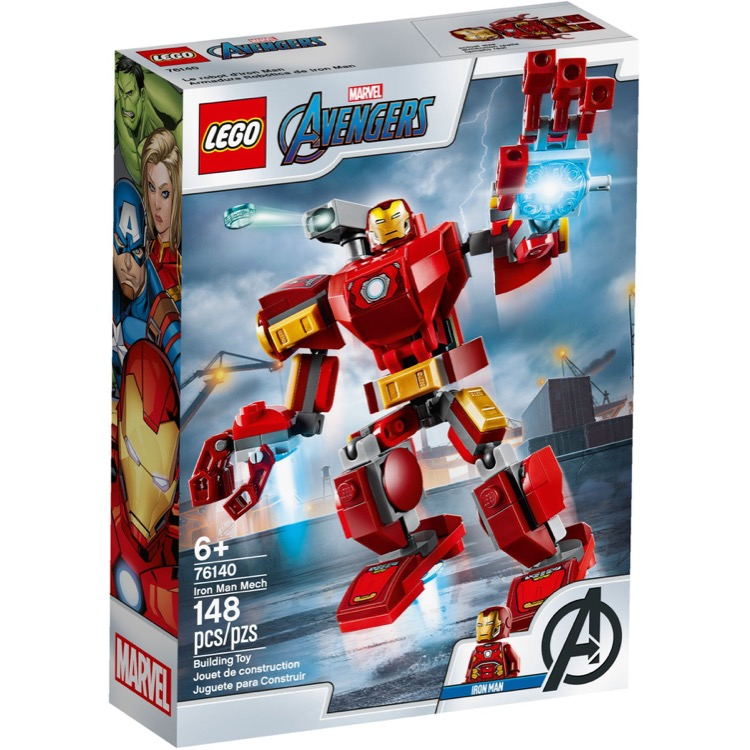 LEGO Super Heroes Sets: Marvel 76140 Iron Man Mech NEW