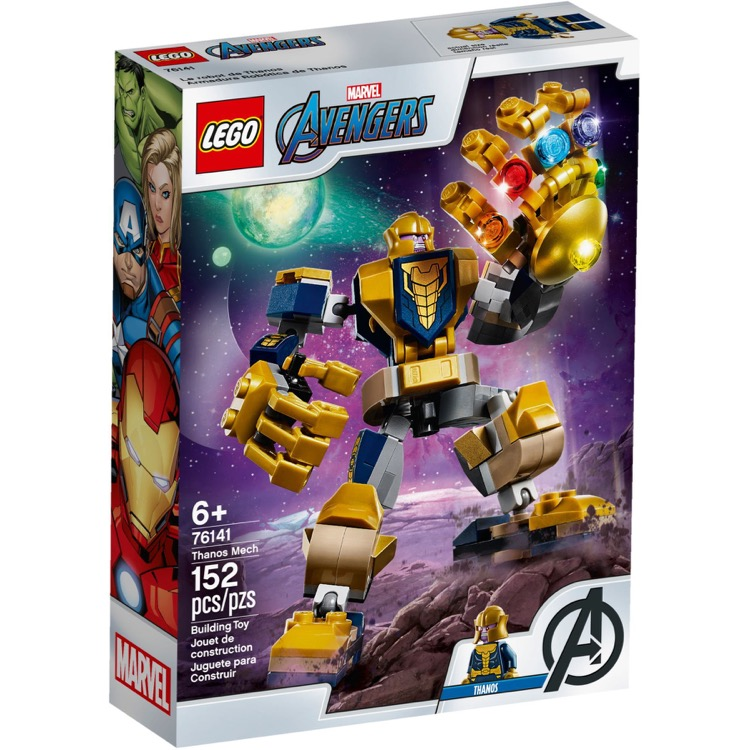 LEGO Super Heroes Sets: Marvel 76141 Thanos Mech NEW