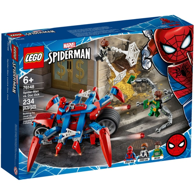 LEGO Super Heroes Sets: Marvel 76148 Spider-Man vs. Doc Ock NEW
