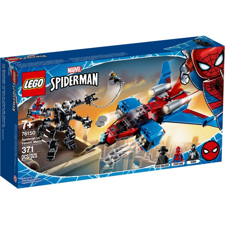 LEGO Super Heroes Sets: Marvel 76150 Spiderjet vs. Venom Mech NEW