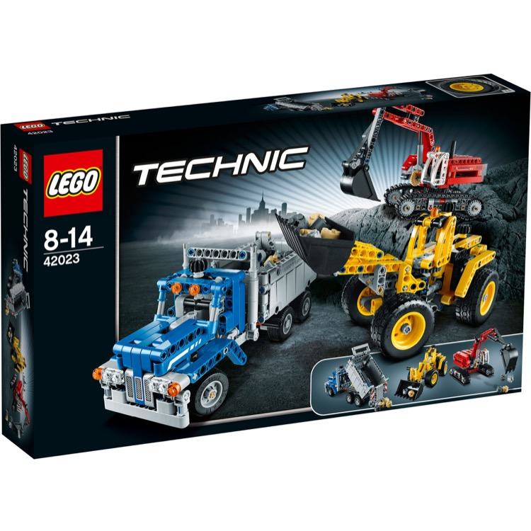 LEGO Technic Sets: 42023 Construction Crew NEW