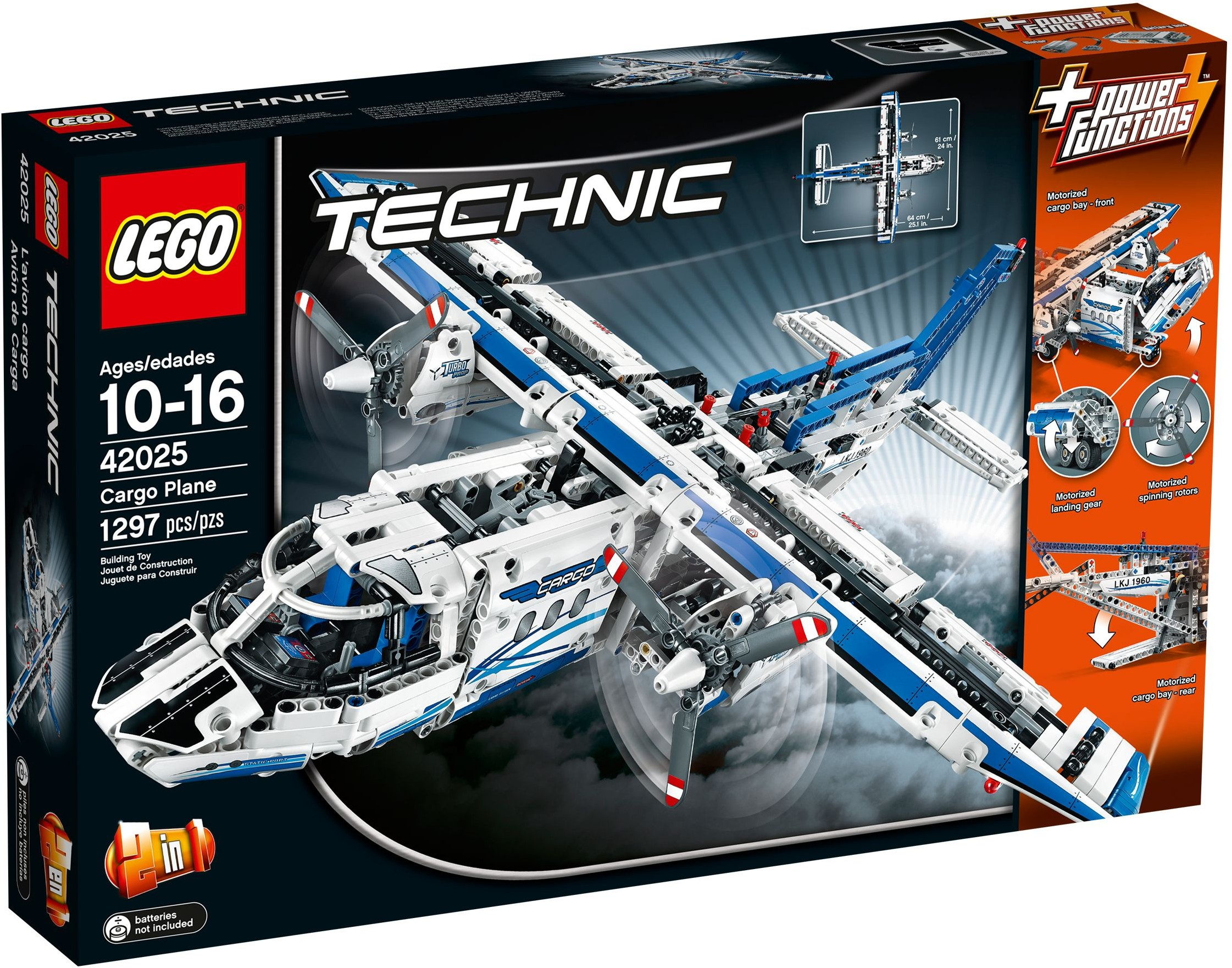 LEGO Technic Sets: 42025 Cargo Plane NEW