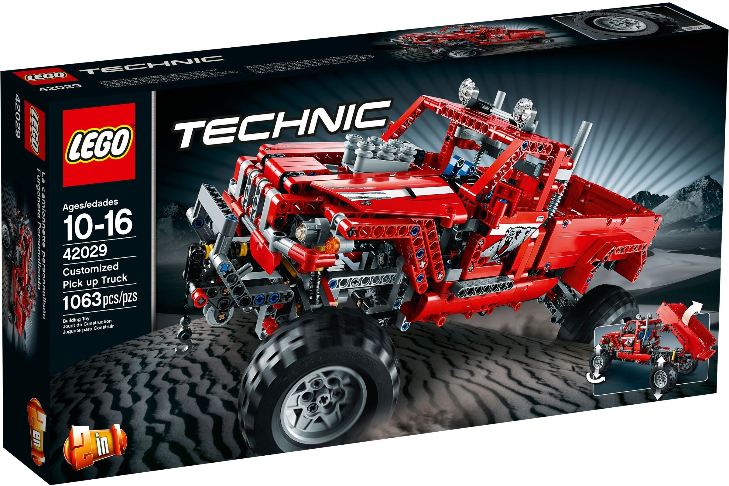 LEGO Technic Sets: 42029 Customized Pick-Up Truck NEW