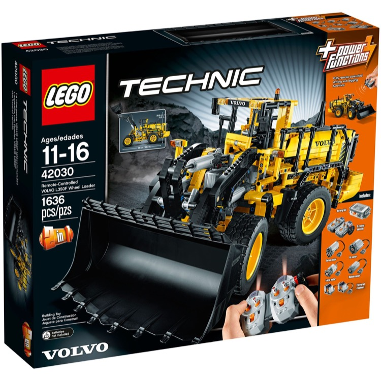 LEGO Technic Sets: 42030 Volvo L350F Wheel Loader NEW