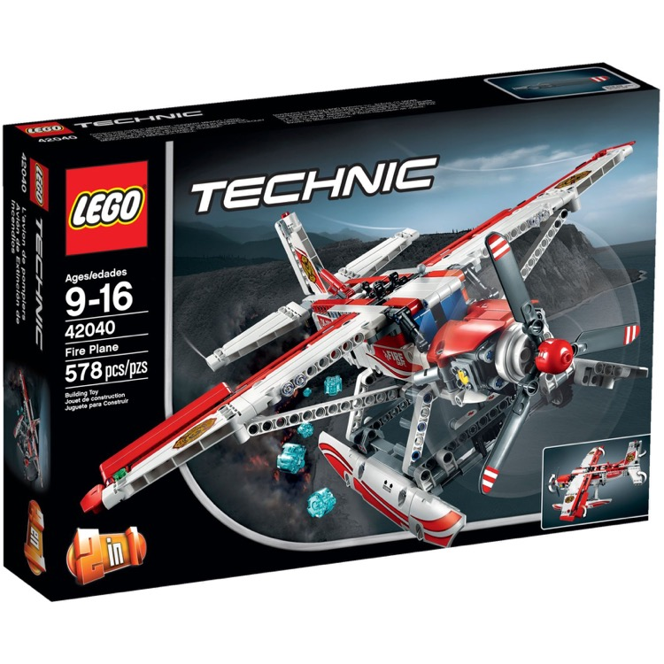 LEGO Technic Sets: 42040 Fire Plane NEW