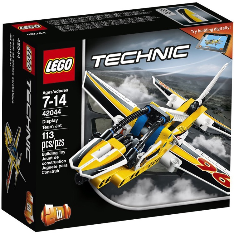 LEGO Technic Sets: 42044 Display Team Jet NEW