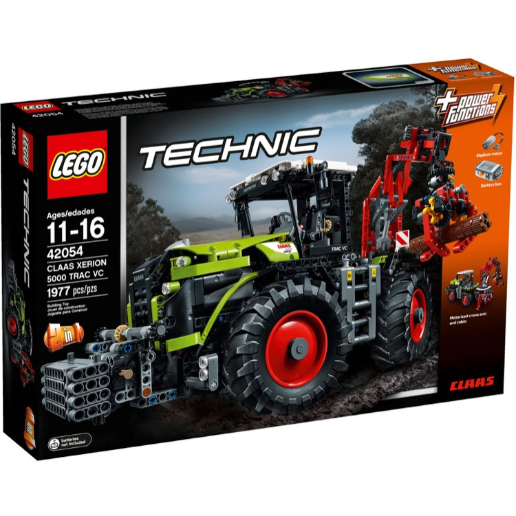 LEGO Technic Sets: 42054 CLAAS XERION 5000 TRAC VC NEW *Damaged Box*