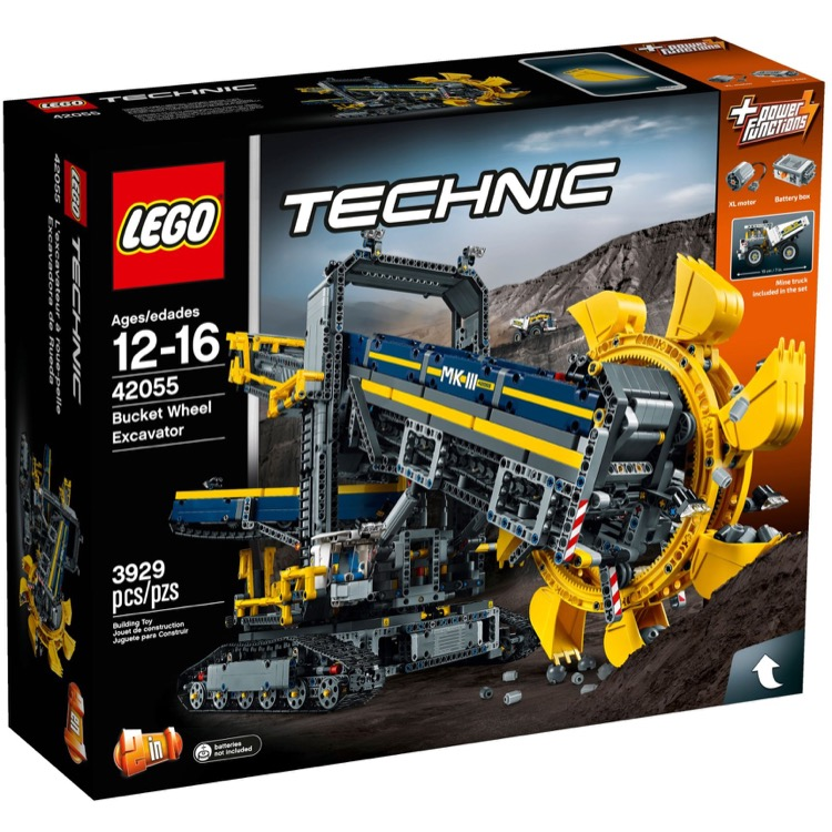 LEGO Technic Sets: 42055 Bucket Wheel Excavator NEW