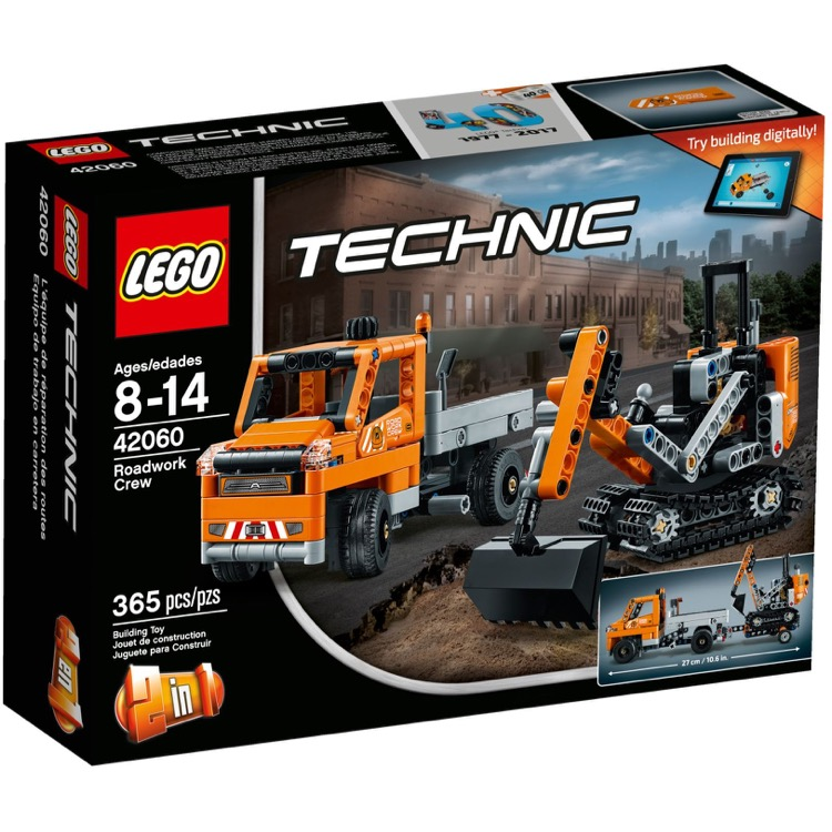 LEGO Technic Sets: 42060 Roadwork Crew NEW